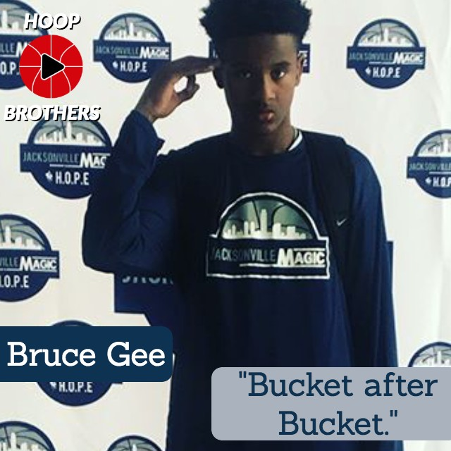 "Bruce Gee – ""Bucket after Bucket."""