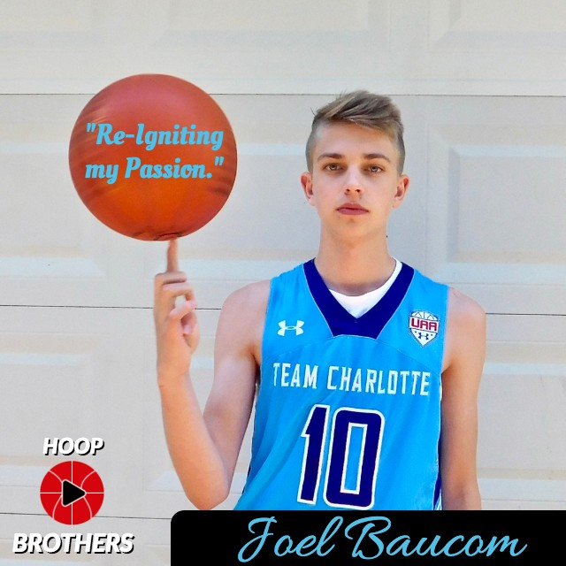 "Joel Baucom – ""Re-Igniting my Passion."""