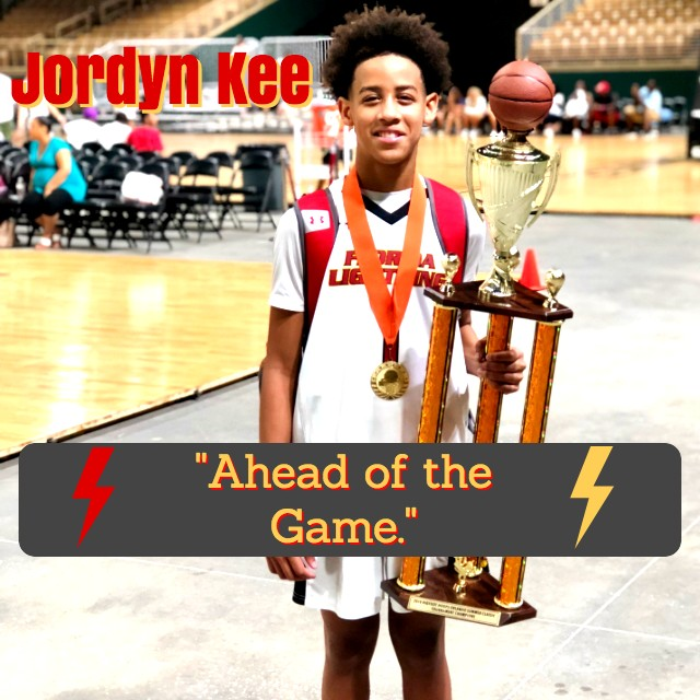 "Jordyn Kee – ""Ahead of the Game."""